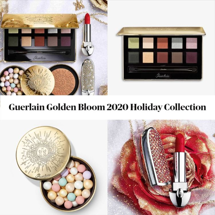 Guerlain Golden Bloom 2020 Holiday Collection