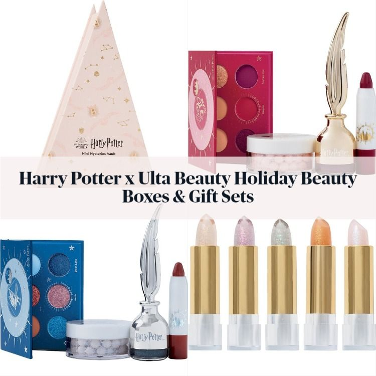 Harry Potter x Ulta Beauty Holiday Beauty Boxes & Gift Sets