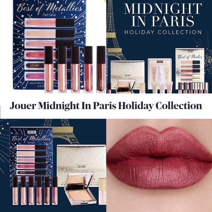 Sneak Peek! Jouer Cosmetics Midnight In Paris Holiday Collection