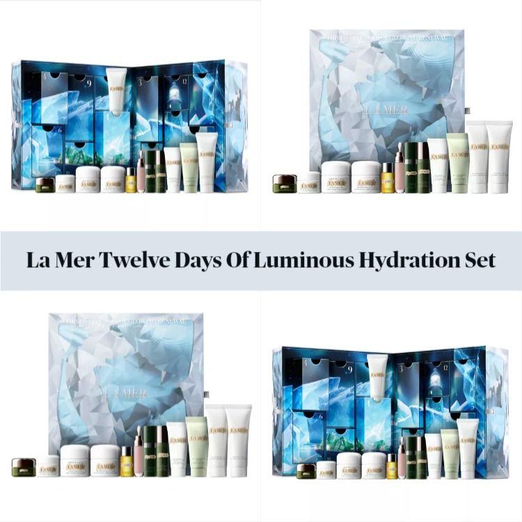 La Mer The Twelve Days Of Luminous Hydration Advent Calendar 2020