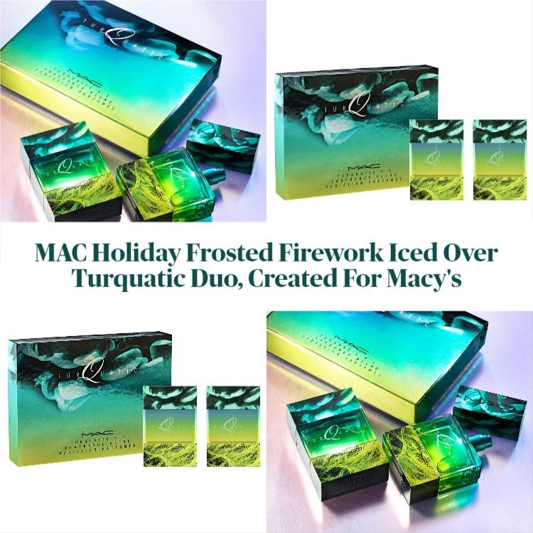 MAC Cosmetics Holiday Frosted Firework Iced Over Turquatic Duo, Created For Macy's