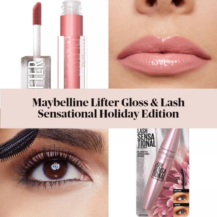 Maybelline Lifter Gloss & Lash Sensational Holiday Edition