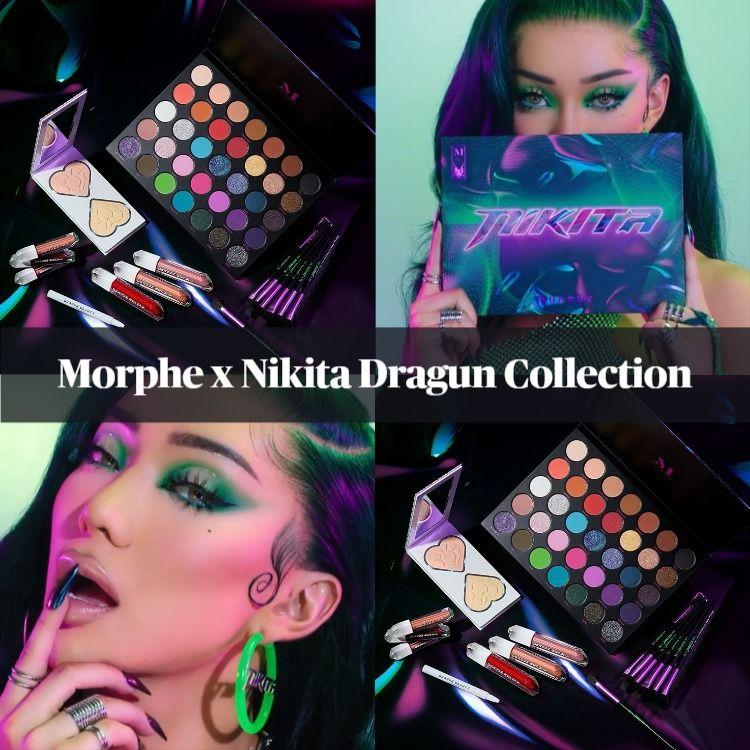 Sneak Peek! Morphe x Nikita Dragun Collection - Updated!