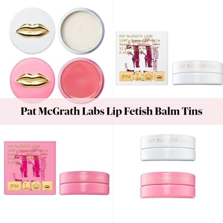Pat McGrath Labs Holiday Lip Fetish Balm Tins