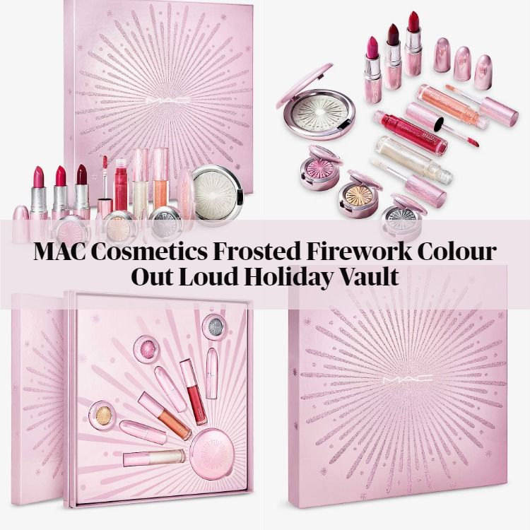 MAC Cosmetics Frosted Firework Colour Out Loud Holiday Vault
