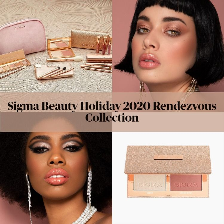 Sigma Beauty Holiday 2020 Rendezvous Collection