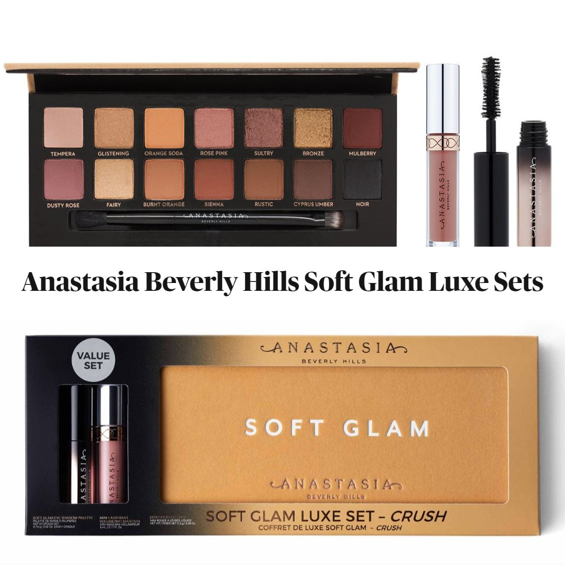 Anastasia Beverly Hills Soft Glam Luxe Sets