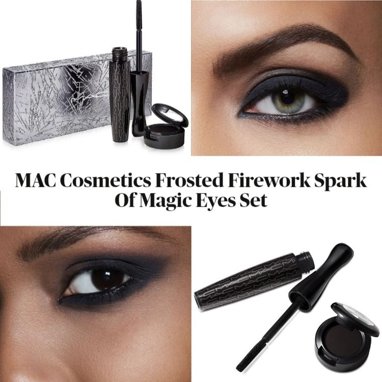 MAC Cosmetics Frosted Firework Spark Of Magic Eyes Set