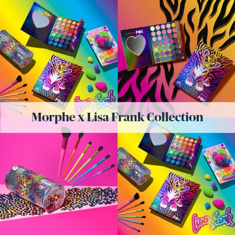 Sneak Peek! Morphe x Lisa Frank Collection