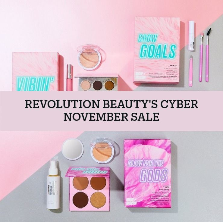 Makeup Revolution's Cyber November Sale!