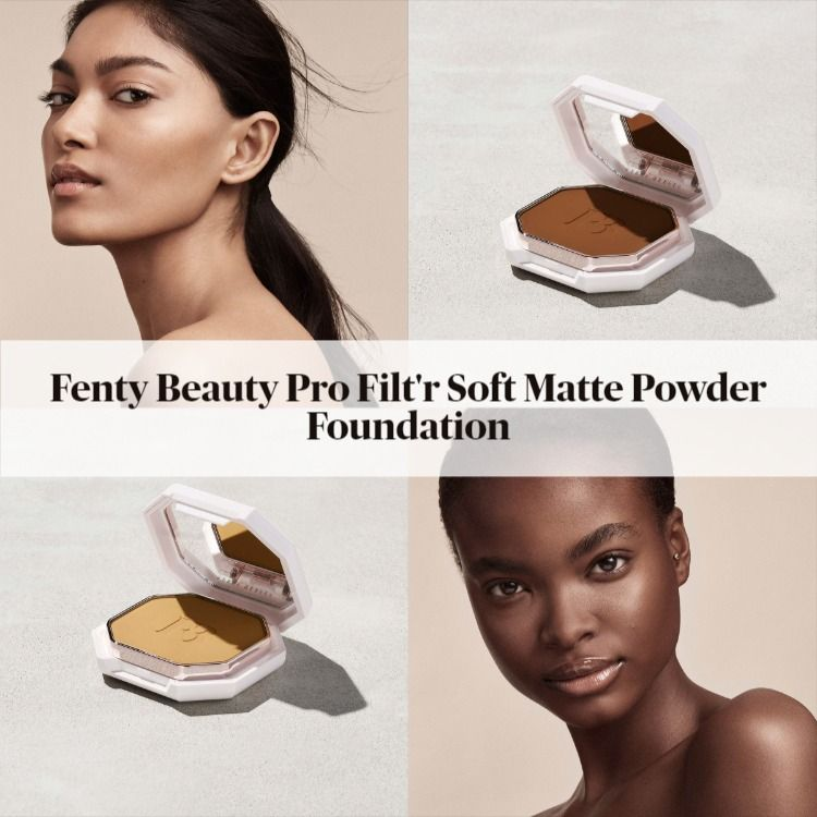 Sneak Peek! Fenty Beauty Pro Filt'r Soft Matte Powder Foundation