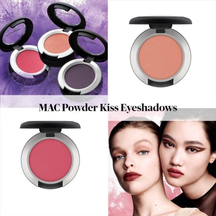 MAC Powder Kiss Eyeshadows - New Shades for Spring 2021