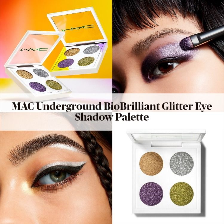 MAC Underground BioBrilliant Glitter Eye Shadow Palette