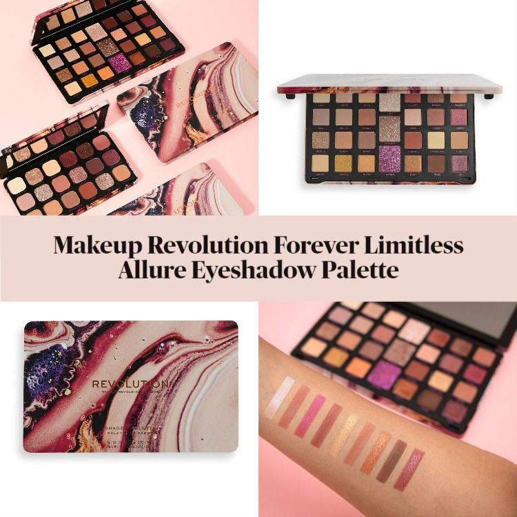 Makeup Revolution Forever Limitless Allure Eyeshadow Palette