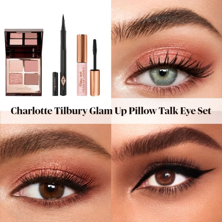 Charlotte Tilbury Glam Up Pillow Talk Eye Set - A Nordstrom Exclusive