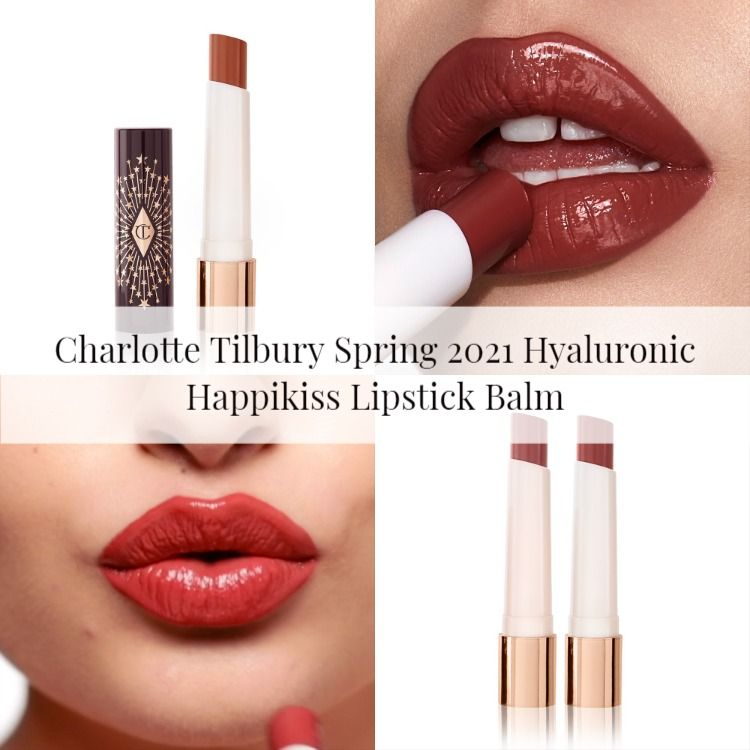 Charlotte Tilbury Spring 2021 Hyaluronic Happikiss Lipstick Balm