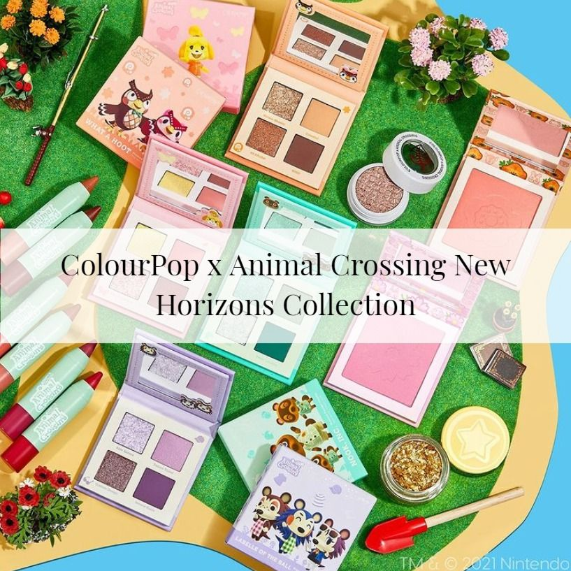 Sneak Peek! ColourPop x Animal Crossing New Horizons Collection