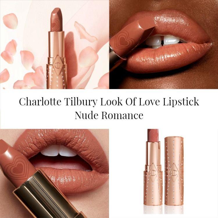 Charlotte Tilbury Look Of Love Lipstick Nude Romance