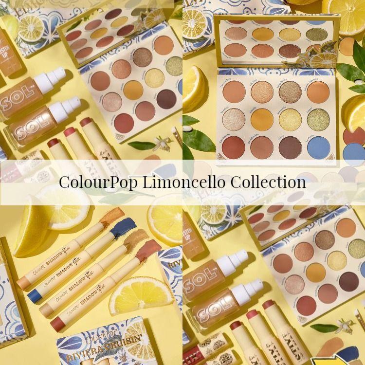 Sneak Peek! ColourPop Limoncello Collection