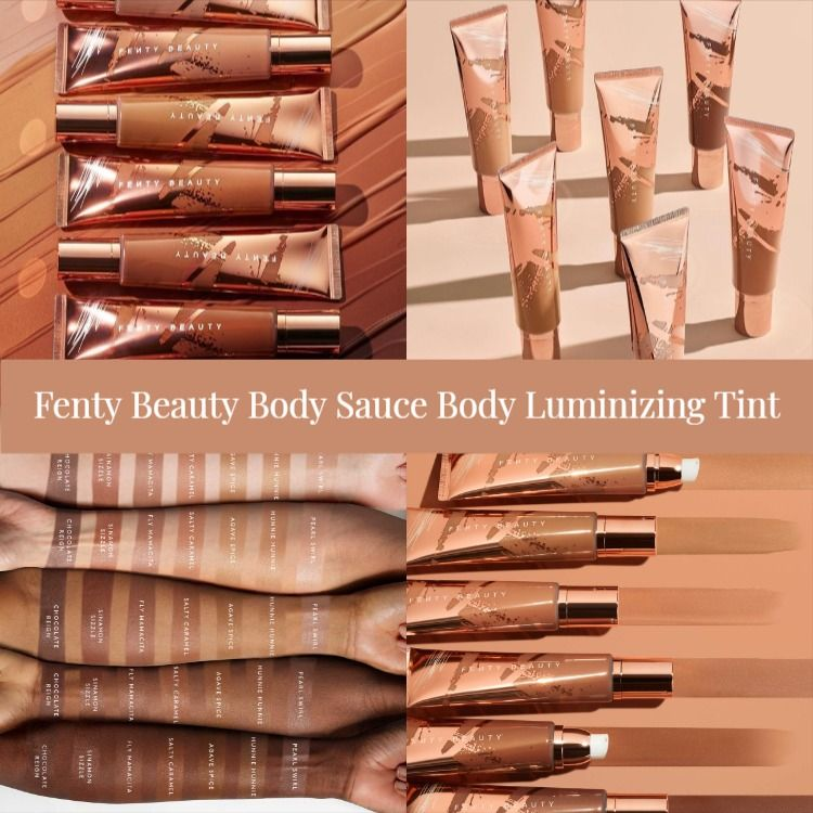 Sneak Peek! Fenty Beauty Body Sauce Body Luminizing Tint