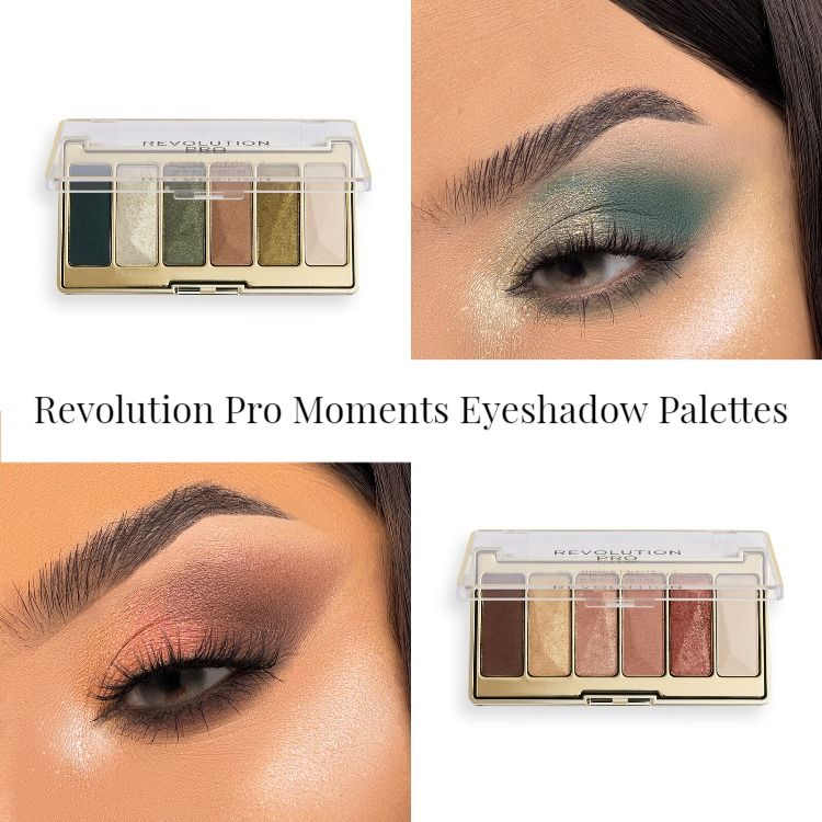 Revolution Pro Moments Eyeshadow Palettes