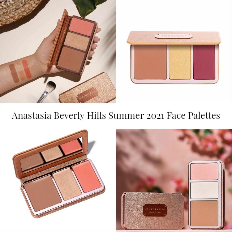 Sneak Peek! Anastasia Beverly Hills Summer 2021 Face Palettes