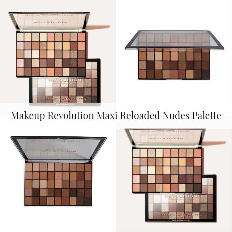 Makeup Revolution Maxi Reloaded Nudes Palette