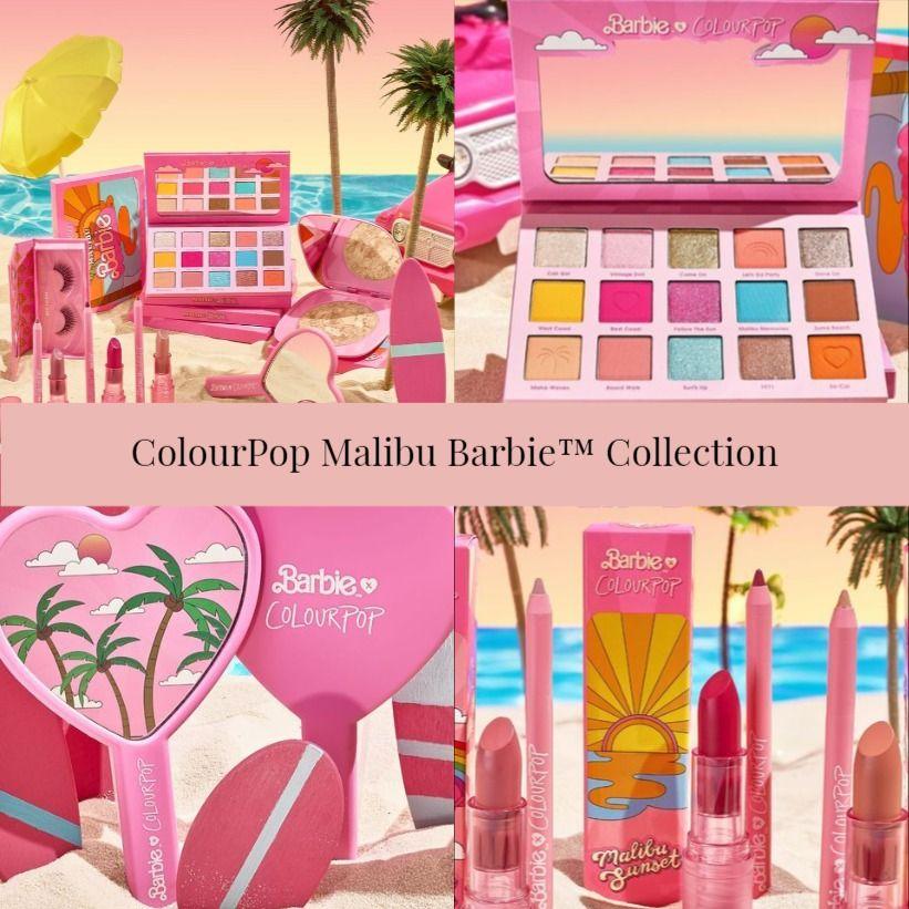 Sneak Peek! ColourPop Malibu Barbie™ Collection