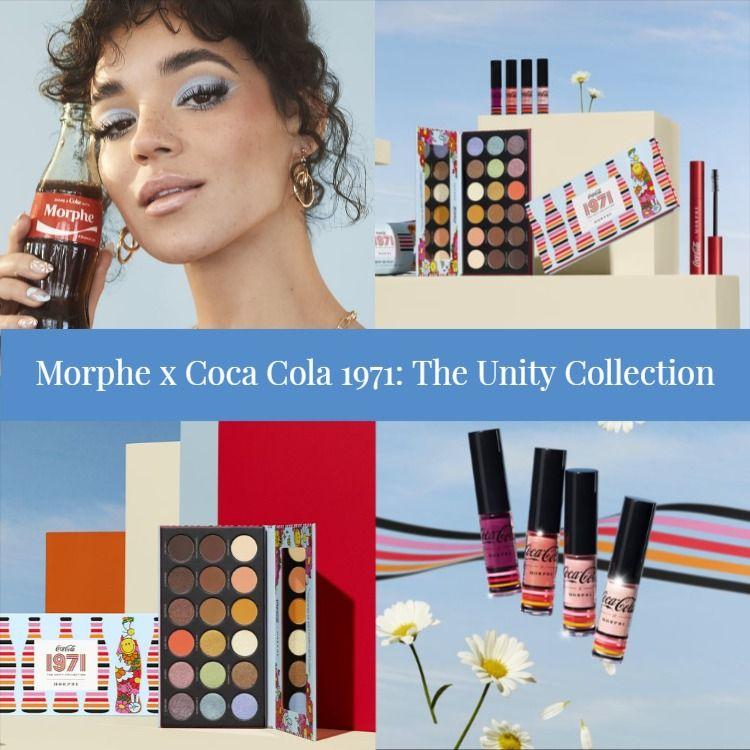 Sneak Peek! Morphe x Coca Cola 1971: The Unity Collection