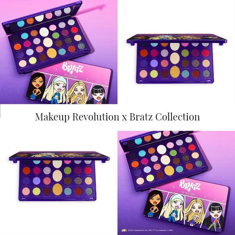 Sneak Peek! Makeup Revolution x Bratz