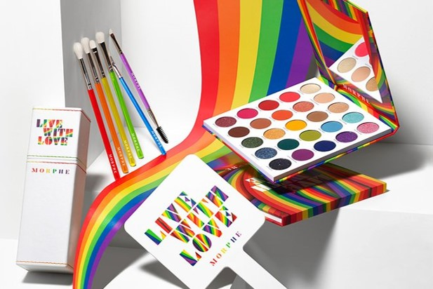 Morphe Pride 2021 Live With Love Collection - BeautyVelle   Makeup News