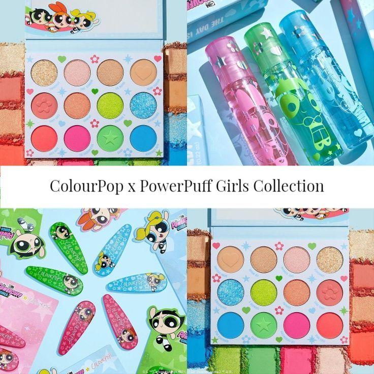Sneak Peek! ColourPop x Powerpuff Girls Collection
