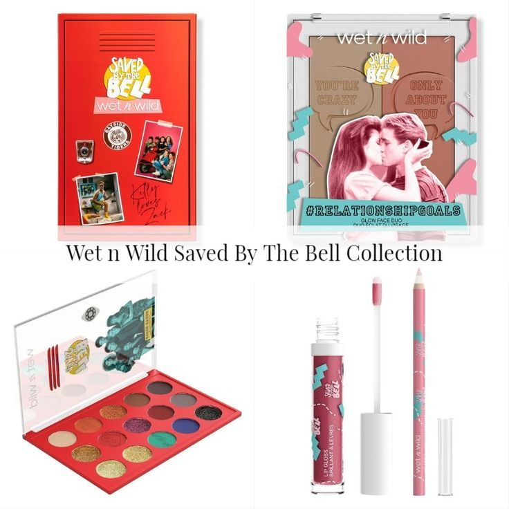 Wet n Wild Saved By The Bell Collection