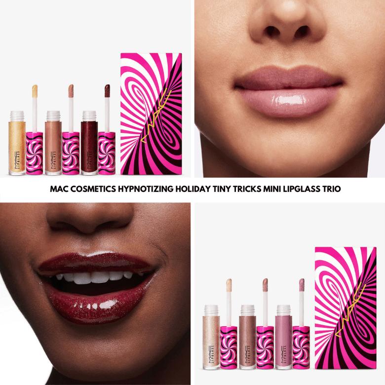 Sneak Peek! MAC Cosmetics Hypnotizing Holiday Tiny Tricks Mini Lipglass Trio