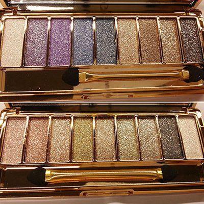 9 Color Eyeshadow Palette Diamond Bright