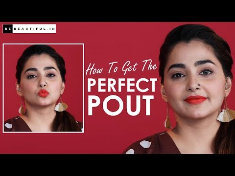 How To Safe The Supreme Pout (Makeup Tutorial)   Guidelines To Kind Lips Survey Bigger   Be Shiny