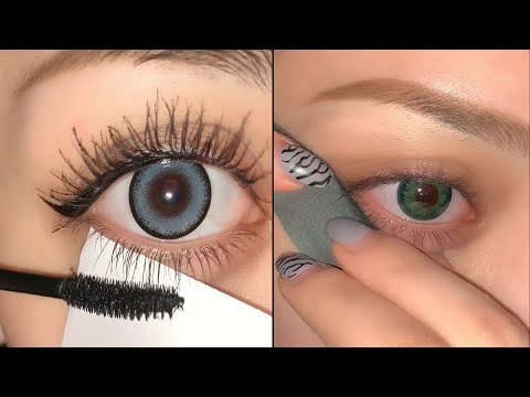 Top Make-up Transformations 2021 – New Make-up Tutorials Compilation section 175