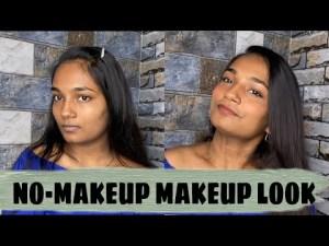 No-makeup Makeup Glimpse | No Basis Makeup Glimpse | Varsha Davanageri