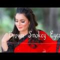 Brown smokey Eyes Make-up | Make-up with Sarhee Watch | Smokey glimpse makeup Tutorial