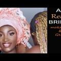 BRIDAL MAKEUP TRANSFORMATION 2019 / Nigerian primitive and white wedding makeup and gele