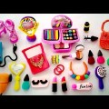 DIY How To Kind For Doll's Wedding Make-up and Jewellery  Polymer clay Minute Make-up Residing and Jewellery