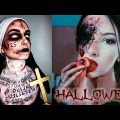 Only Halloween SFX Make-up Compilation 2018 – Tips & Make-up Tutorials For Halloween