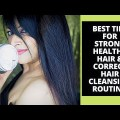 5 BEST HAIR CARE TIPS & ROUTINE for healthy enhance,strong hair + top hair merchandise 2021 JUST HERBS