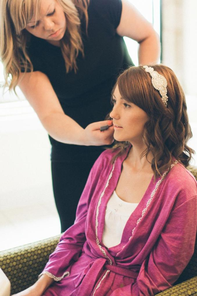 wedding hair & make-up gallery - beauty with inn - northampton