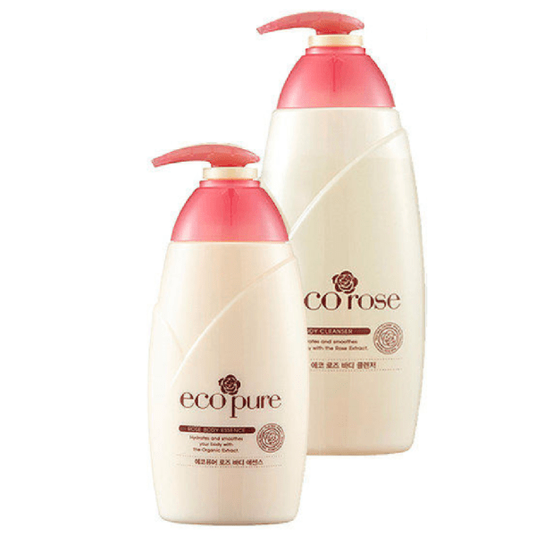 Ecopure Rose Body Care Set