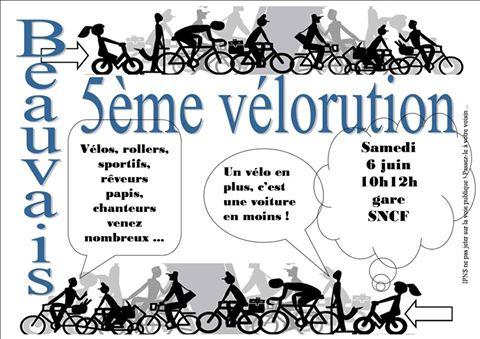 Vélorution 2015 à Beauvais