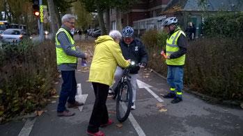 Opération «Cyclistes brillez» par Vellovaque