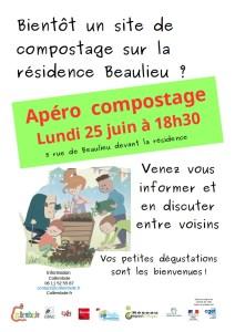 Apéro compostage Beaulieu @ Résidence Beaulieu