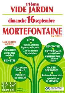 Vide jardin à Morthefontaine  en Thelle @ Mortefontaine en Thelle