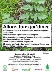 Allons tous  jar'Diner @ Ecospace | Beauvais | Hauts-de-France | France